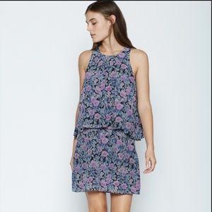 Joie Everla Floral Silk Dress